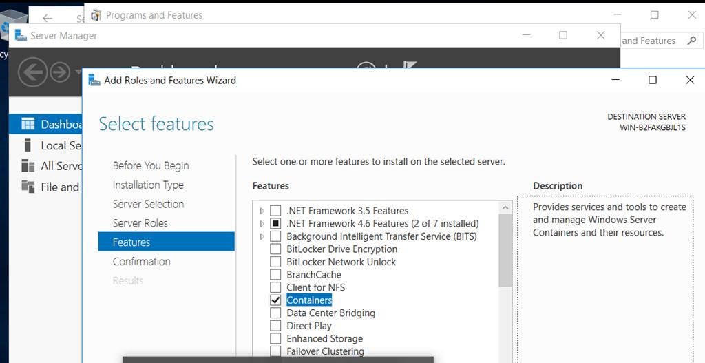 Finally Docker comes to Windows | Blog Linoproject net